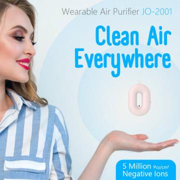 Носимый очиститель воздуха ожерелья