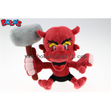 "7"" Custom Toy Customized Made Stuffed Animal Red Devil Monster Toy Bos1128"