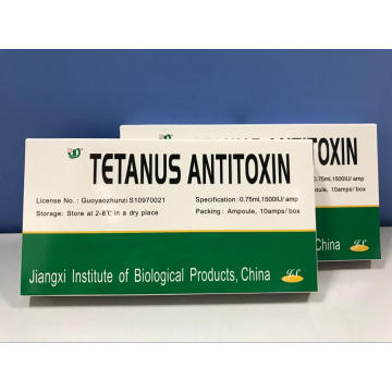 Tetanus Antytoksyna Injection for Human 1500IU Equine Origin