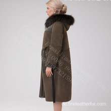 Australien Merino Shearling Long Coat im Winter