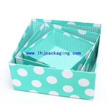 Caja de papel de regalo de embalaje de cartón de gama alta con DOT especial