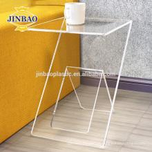 Jinbao 2mm bom preço acrílico display stand para loja de sinal de venda