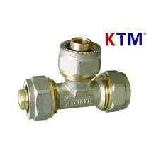 Brass Pipe Fitting - Equal Tee