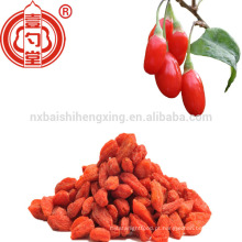 2017 novo ar secado china goji berries fresco com cor brilhante