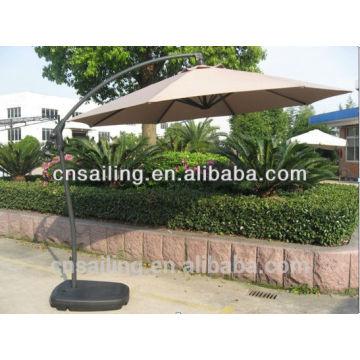 Guarda-chuvas de jardim suspensos Parasol de piscina, Guarda-sol de jardim, Guarda-sol de pátio