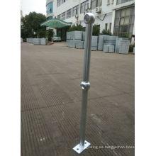 Barandilla de acero galvanizada para proyectos
