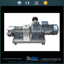 Pompe à lobes rotatifs sanitaires Pompes à colloïde Pompes à rotor
