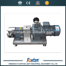 Sanitary rotary lobe pump Colloid pumps rotor pumps