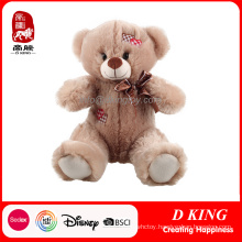 Wholesale Stuffed Toy Soft Plush Teddy Bear with Patch