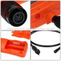"""5.5mm Cámara Industrial 2.4 """"HD Endoscopio Serpiente Alcance A Prueba de agua 1M Cable Inspección Boroscopio 4 LED Motor Pipe Cam herramienta"""