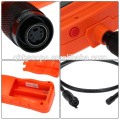 "5.5mm Camera Industrial 2.4"" HD Endoscope Snake Scope Waterproof 1M Cable Inspection Borescope 4 LED Engine Pipe Cam Tool"