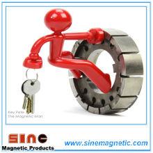 Magnetischer Schlüsselhaken-Mann