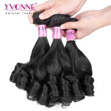 Tecer do cabelo humano do Virgin da qualidade superior Fumi