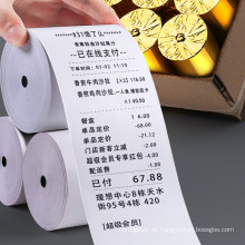 Büropapier mit Kassenpapier