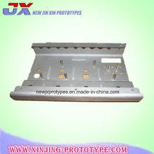 Peças de chapa metálica personalizadas da base do chassi com carimbo / soldadura / corte do laser