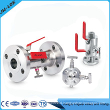 Hot Sale Double Block and Bleed DBB Ball Valve