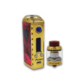 Vape Box Mod Power genom Single 18650 20700 21700 Batteri Kompatibel med 510 Pin