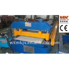 Automatischer Steuerbogen Farbe Stahl Roof Forming Machine / rolling machinery