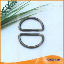 Tamaño interior 30mm Metal Hebillas, Regulador de metal, Metal D-Ring KR5072