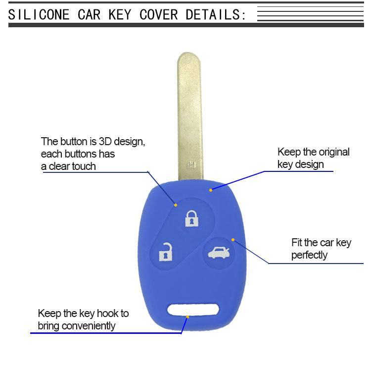 Honda car key Silicone case