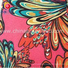 Textile Twill Printed Imitate Denim Fabric of Cotton Spandex (GLLML178)