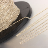 925 sterling silver 3+1 Figaro cable chain for wholesale