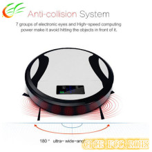Auto-Mop Sweeper Robot Vacuum Cleaner with Remote Control