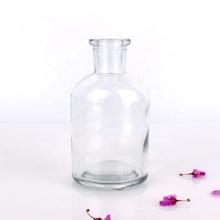 Cheap clear reagent glass bottle medical bottles 125ml