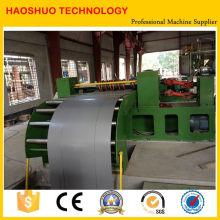 Línea que raja del acero de silicona de la alta precisión automática completa 4X1350m m o línea cortada a la longitud para la venta