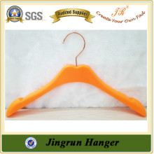 New Popular Colorful Plastic Hander Kidswear Hanger Manufacture
