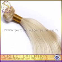 Super Star Remy Hair Extensions Italian silky straight Blond Hair