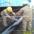tape applying wrapping machine for the steel pipeline