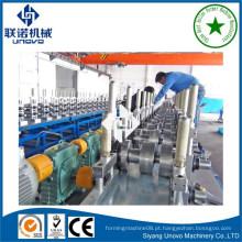 Máquina automática de formação de rolo de tiras de tiras de forma c