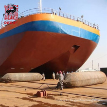 Deers rubber marine air bag for ship launching