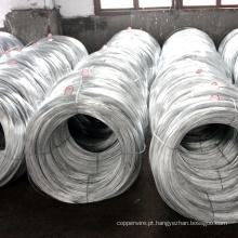 Fio de aço revestido de liga de zinco-5% de alumínio metal-mischmetal de aço