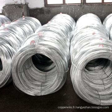 Câble métallique en acier recouvert de zinc