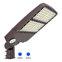 Iluminação rodoviária de 100 w led para estacionamentos com luz de rua