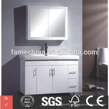 Lavandaria de banheiro de laca branca moderna de alta qualidade feita na China