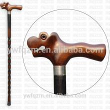 Bastón de madera flexible