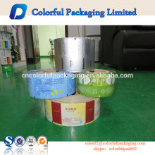 factory customise snack food packaging metallized potato chips packaging film