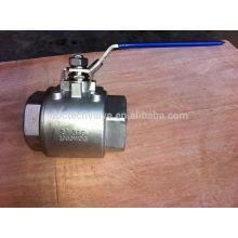 2000WOG Screw ball valve