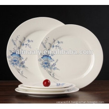 good quality restaurant dinner plate round shape