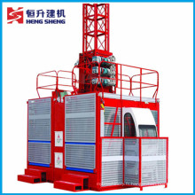 Ascenseur de construction approuvé par Ce (série de SC) offert par Hstowercrane
