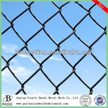 plastic twisted chain link fence/diamond wire mesh