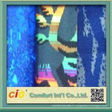Tissu de tissu de siège de voiture coloré de haute qualité