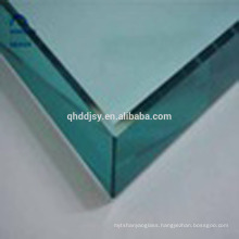 Security easy cleaning clear 10mm toughened glass for dining tables
