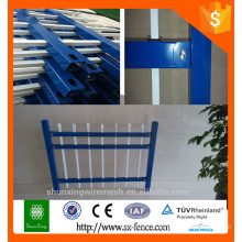 galvanized powder coating iron fence