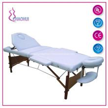 Mesa de masaje de madera 2 Sección Salud