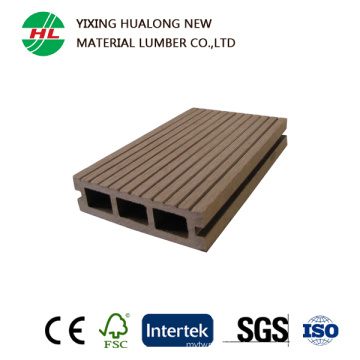 Manufacture Price Crack-Resisitant Composite Decking for Outdoor Use (M136)
