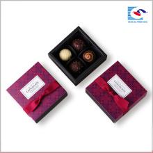 Heiße verkaufende kundenspezifische handgemachte schiebende Fach-Schokoladen-Papierkästen